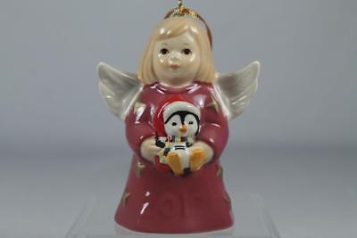 Goebel Annual 2017 Mauve Angel Bell Ornament 42nd Edition #G112303 New In Box