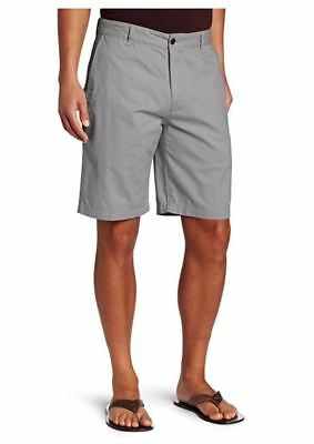 NEW Dockers Men's ic Fit Perfect Short D3 Stretch, Black Twill, Gray 32 Waist