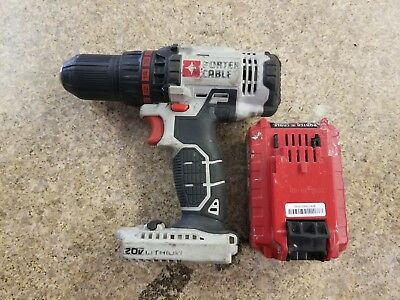 """Porter Cable 20v 1/2"""" Drill/Driver PCC601 with Lithium Ion Battery SHIPS FAST"""