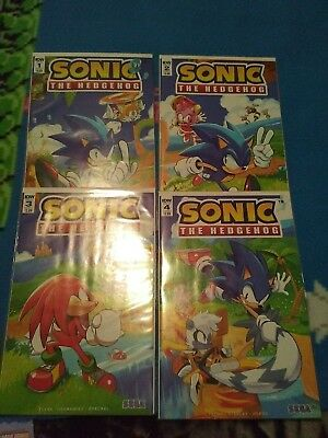 SONIC THE HEDGEHOG Comic Book #4 Fourth Issue HTF Good