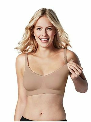 a3992072ea5a3 Bravado! Designs Body Silk Seamless Nursing & Maternity Bra Medium  Butterscotch