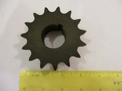"""50BS14H x 1"""" sprocket with kw & 2ss"""
