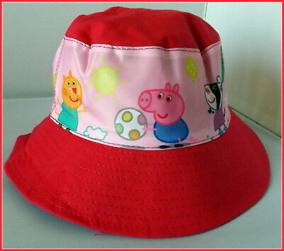 Children's Cotton Bucket Hat - Peppa Pig