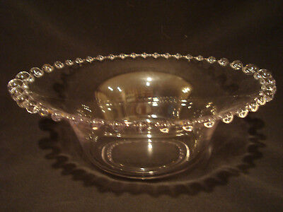 Imperial, Depression Glass, Candlewick, Graduated Bead, Salad, Serving Bowl