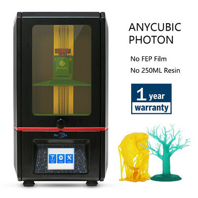 * CA Stock * ANYCUBIC Photon 3D Printer SLA LCD UV Resin 2.8'' Smart Touch TFT