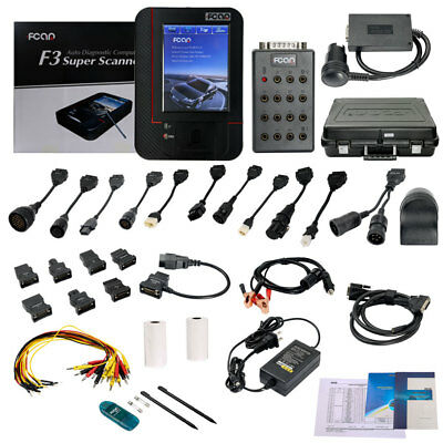 Fcar F3-G (F3-W + F3-D) For Gasoline cars & Heavy Duty Trucks OBD2 Code Scanner