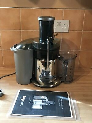 **BARGAIN** Sage by Heston Blumenthal Nutri Whole Fruit Juicer - BJE410UK