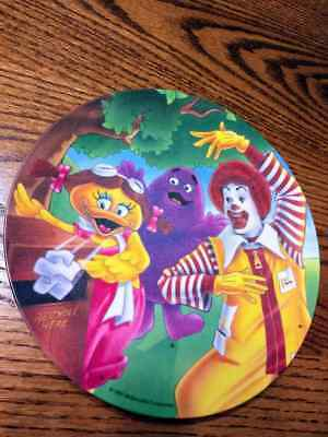 McDonalds-Plate-Plastic 1991 Ronald and Friends 8 Inch