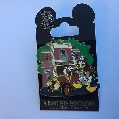 DLR Donald Duck at the Fire Station Limited Edition 1000 Disney Pin 51341