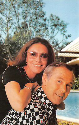 Postcard - Johnny Carson and Wife Joanna  TV Host Comedian - Vintage Unused A08