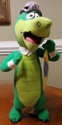 "LARGE 14"" HANNA BARBERA COLLECTION Wally Gator YOGI BEAR SHOW PLUSH With Tags"