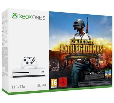 Microsoft Xbox One S Console 1TB With Player Unknown's Battleground Game Bundle