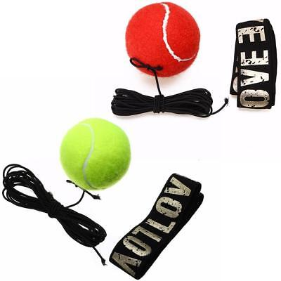 Gym sports Boxing Fight Ball With Head Band For Reflex Speed Boxer Training PK