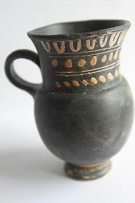 ANCIENT GREEK THISTLE MUG POTTERY 4th CENTURY BC