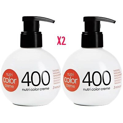 Revlon Nutri Color Conditioning Creme 400 TANGERINE  270ml BALL X2
