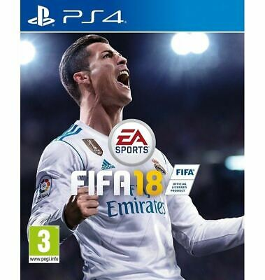 Electronic Arts FIFA 18 Standard Edition Playstation 4 PS4 Video Game For 3+