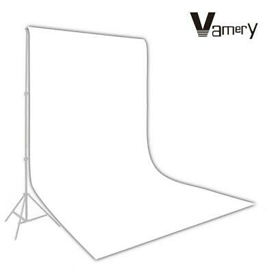 Vamery 1.6*3m Photography Studio Non-woven Backdrop / Background Screen White