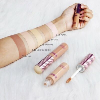 5 Colors Face Concealer Cream Makeup Liquid Corrector Foundation Base Eye Beauty