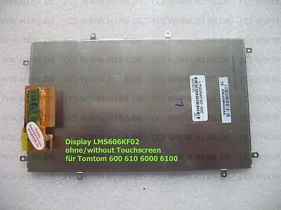 Display LMS606KF02 ohne / without Touchscreen für Tomtom 600 610 6000 6100