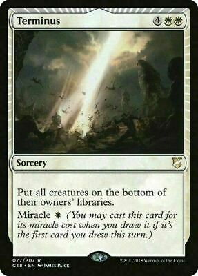 Terminus ~ Commander 2018 ~ MINT/NearMint ~ Magic The Gathering
