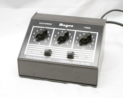 Used Rayco Enlarger Timer With Foot Switch