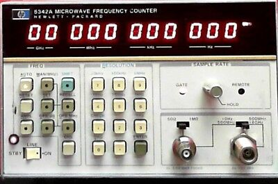 HP - Agilent - Keysight 5342A Frequency Counter, 10Hz to 18GHz SN:2232A60835