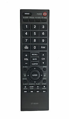 Toshiba Remote CT-90325 for 23L1350U 23L2300U 29L1350U 32L2300U 55HT1U 55S41