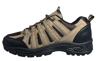 Wyre Valley Severn Premium Casual Walking Hiking Shoes Brown