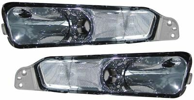 Ford Mustang 05-10 Crystal Clear Chrome Front Indicators Repeaters