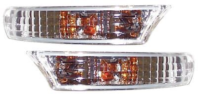 Subaru Impreza 96-99 Crystal Clear Chrome Front Indicators Repeaters