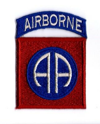 U.S.ARMY WW2 CUT-EDGE 82nd AIRBORNE DIVISION PATCH (No.2)