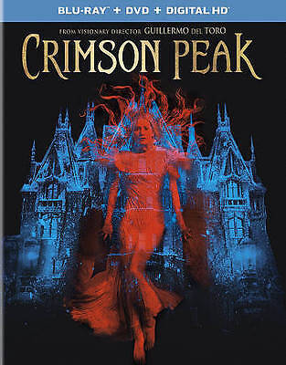 Crimson Peak [Blu-ray] New DVD! Ships Fast!