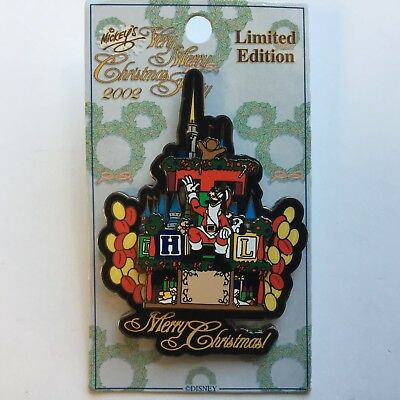 Mickeys Very Merry Christmas Party Series Goofy on Parade Float Disney Pin 17341