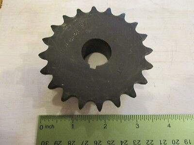 """40BS20 x 7/8"""" sprocket with kw & 1 ss"""