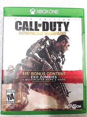 Call of Duty Advanced Warfare Gold Edition XBOX ONE #360
