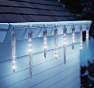 DRIPPING ICICLE LIGHTS LED ANIMATED Christmas Outdoor ...