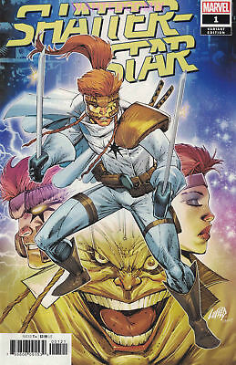 Shatterstar #1 (Of 5) Rob Liefeld 1:50 Variant Cover X-Force Deadpool New 2018