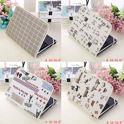 Notebook laptop sleeve bag cotton pouch case cover for 14 /15.6 /15 inch laptopQ
