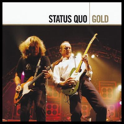STATUS QUO (2 CD) GOLD D/Remaster CD ~ GREATEST HITS / BEST OF *NEW*