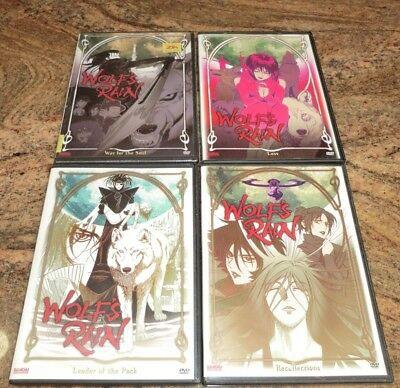 Wolf's Rain Anime 4 DVD Leader of the Pack Recollections Loss War of the Soul