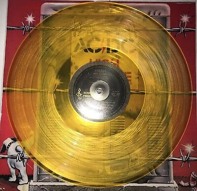 AC/DC, HIGH VOLTAGE,180G YELLOW COLORED Vinyl, 2018 EU IMPORT