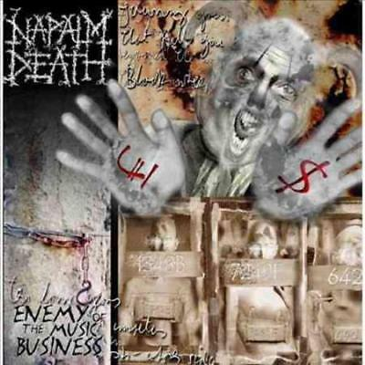 Napalm Death - Enemy Of The Music Business Plus New Vinyl Record