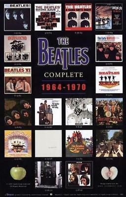 Beatles Complete Covers 64-70 Poster 24X36
