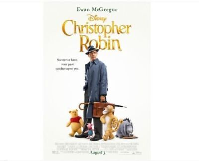 CHRISTOPHER ROBIN (DVD 2018) Ships 11/6 NEW SHIPS FROM USA