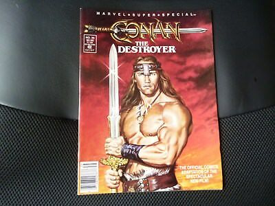 Marvel super special # 35  Conan the Destroyer movie n/m
