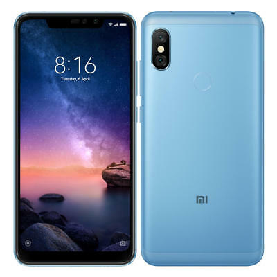 Xiaomi Redmi Note 6 Pro Global Version 6`26 3GB 32GB Snapdragon 636 Smartphone