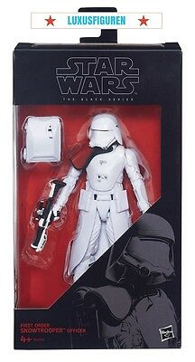 Hasbro Star Wars Black Series 6-Inch First Order Snowtrooper Officer Exclusive