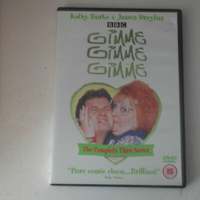 DVD Gimme, Gimme, Gimme - Series 3 - Complete (DVD, 2002)Kathy Burke