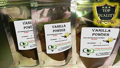 200g Pure Madagascar Vanilla Pods Beans Powder Vanilla Ground - Vanilla Powder