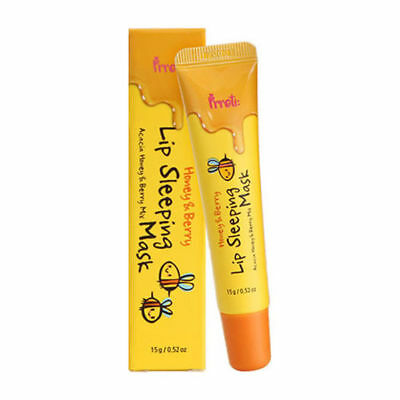 Prreti Honey & Berry Lip Sleeping Mask 15g / Free Gift / Korean Cosmetics